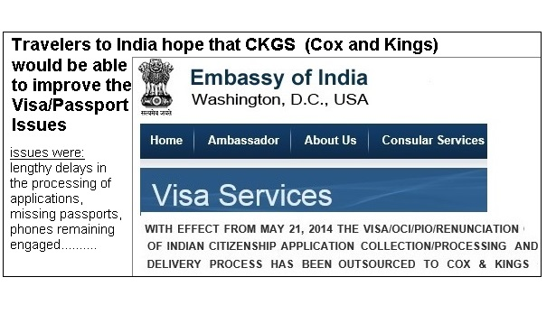 Travelers to India hope that CKGS (Cox and Kings) would be able to ...