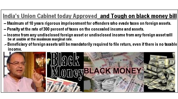 INDIA Black money bill