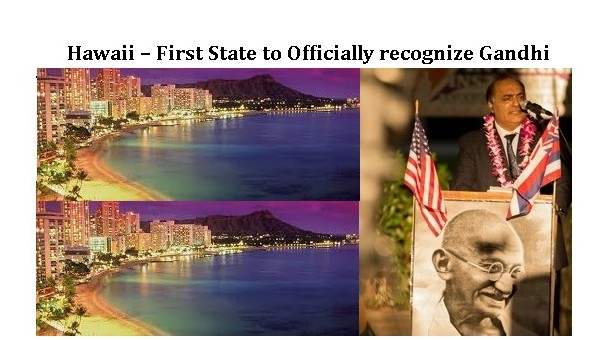 Hawaii recognize Gandhi
