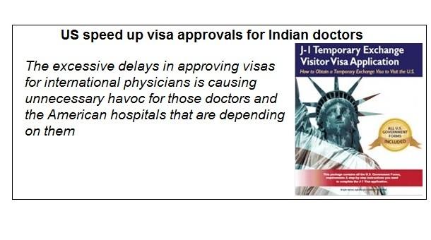 J1 VISA FOR INDIAN DOCTORS
